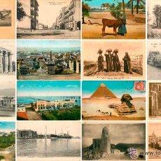 Postales: EXTRAORDINARIO LOTE DE 493 POSTALES ANTIGUAS DE EGIPTO, PRIMEROS AÑOS SIGLO XX . Lote 52788239