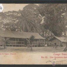 Postales: CONGO FRANCES - 32 PHOT· R.VISSER - VER REVERSO CIRCULADA - (39440). Lote 53305150
