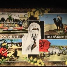 Postales: POSTAL- SOUVENIR DU MAROC. MARRUECOS. Lote 54232386