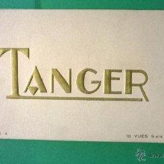 Postales: ESTUDIO LA CIGOGNE: BLOC DE TANGER, 10 FOTOGRAFÍAS (SERIE 4). Lote 54711259