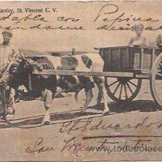 Postales: TARJETA POSTAL DE CABO VERDE. LOCAL CARRIER, ST. VINCENT C. V.. Lote 54940915