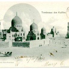 Postales: EGIPTO, CAIRO Y PORT-SAID (EGIPTO) 1902 . Lote 55705725