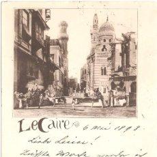 Postais: EGIPTO EL CAIRO 1898. Lote 56126859