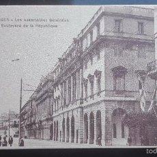 Postales: POSTAL DE ALGER BULEVAR DE LA REPUBLICA PRINCIPIOS DE SIGLO. Lote 56201006