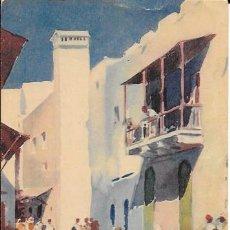 Postales: TETUÁN - TRANCAT - CALLE DE TRANCAT - EDICIONES HERALMI - ESCRITA - 1952. Lote 56487711