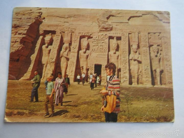THE TEMPLE OF ABU SEMBEL (Postales - Postales Extranjero - África)