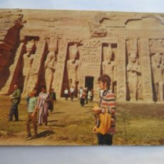 Postales: THE TEMPLE OF ABU SEMBEL. Lote 56861448