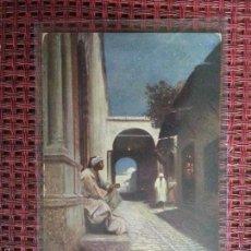 Postales: ARGELIA RUE AU CLAIR DE LUNE N° R 105 EDITEUR ROMMULER & JONAS DRESDEN CIRCULADA 1910 REUS. Lote 57204836