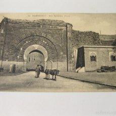 Postales: POSTAL DE MARRAKECH Nº 62 - PUERTA DE BAB AGUENAOU - AGNAOU. Lote 57686733