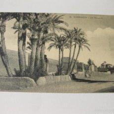Postales: POSTAL DE MARRAKECH Nº 62 - LES REMPARTS. Lote 57686852