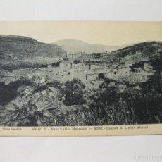 Postales: POSTAL DE MARRUECOS - ASNI - CASBAH DE CHEIKH AHMED. Lote 57718013