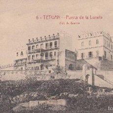 Postales: TETUÁN. PUERTA DE LA LUNETA. POSTAL BLANCO Y NEGRO, SIN CIRCULAR. C. 1920.. Lote 57865032