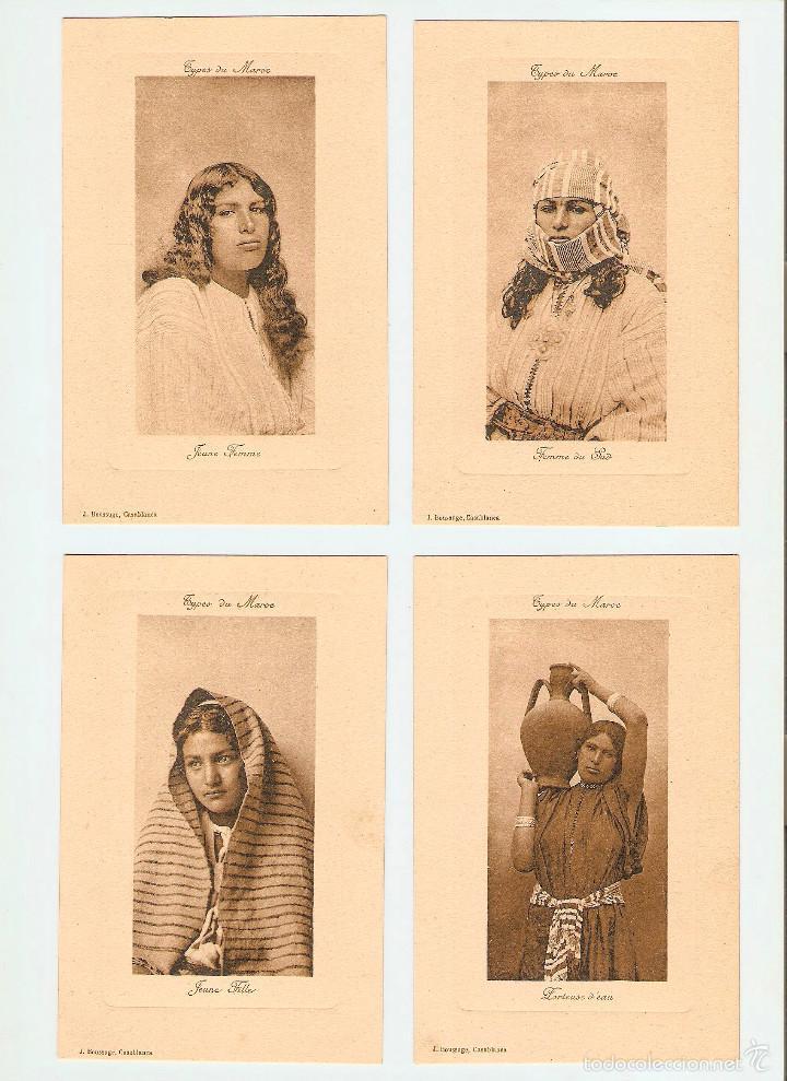 ÁLBUM HACIA 1900. 36 CARTES POSTALES MARRUECOS. FOTÓGRAFOS: JOSEPH BOUSSUGE, PIERRE GRÉBERT (Postales - Postales Extranjero - África)