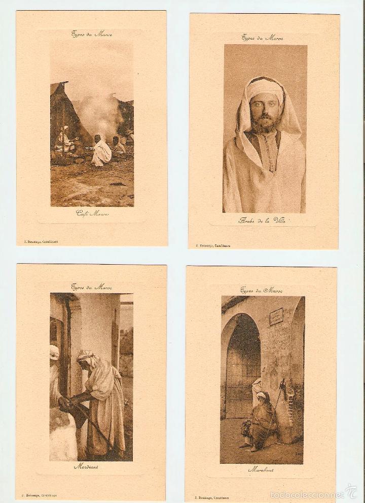 Postales: ÁLBUM HACIA 1900. 36 CARTES POSTALES MARRUECOS. FOTÓGRAFOS: JOSEPH BOUSSUGE, PIERRE GRÉBERT - Foto 3 - 57979895