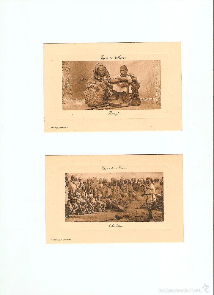 Postales: ÁLBUM HACIA 1900. 36 CARTES POSTALES MARRUECOS. FOTÓGRAFOS: JOSEPH BOUSSUGE, PIERRE GRÉBERT - Foto 4 - 57979895