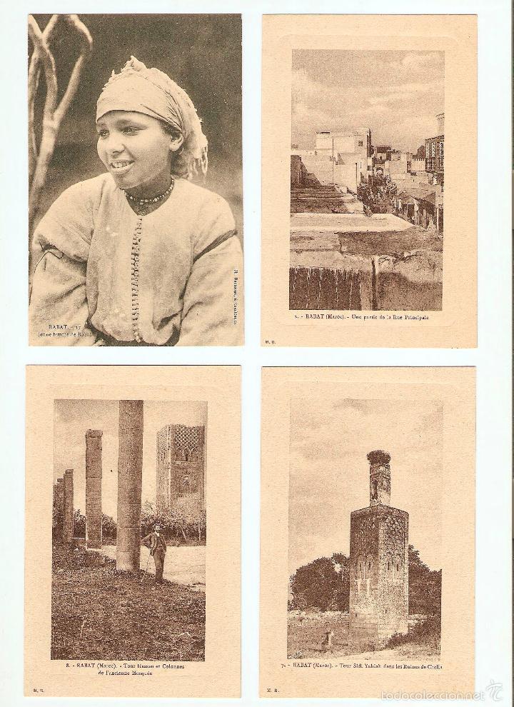Postales: ÁLBUM HACIA 1900. 36 CARTES POSTALES MARRUECOS. FOTÓGRAFOS: JOSEPH BOUSSUGE, PIERRE GRÉBERT - Foto 5 - 57979895