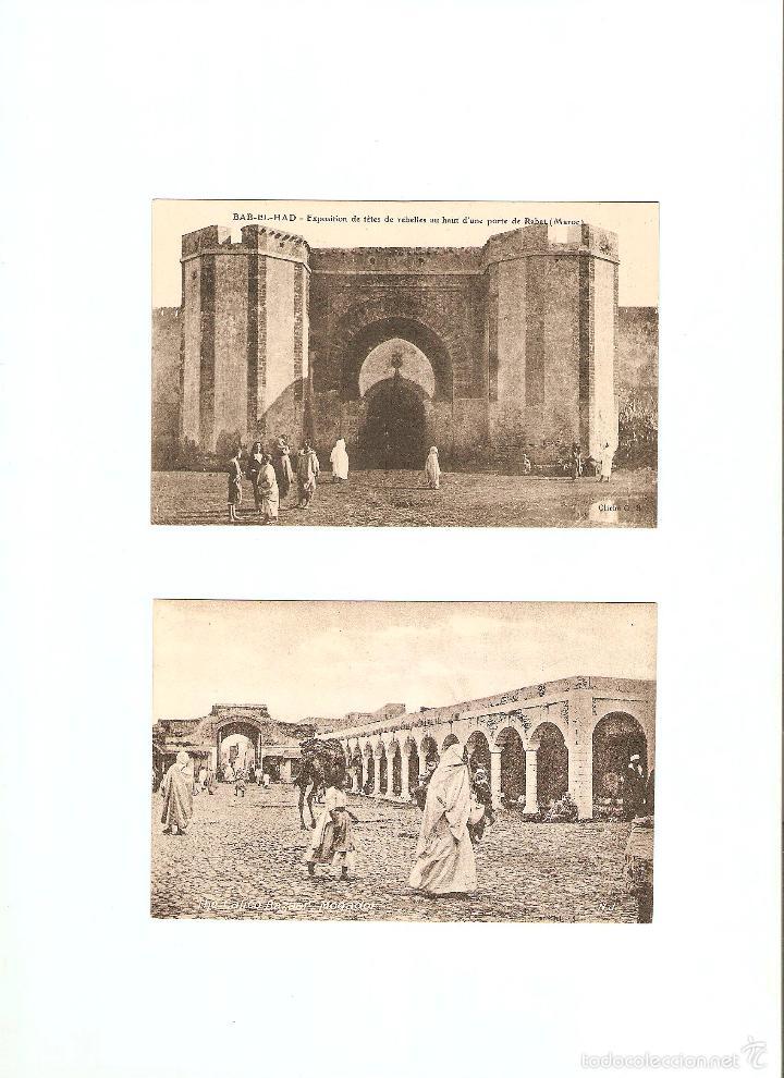 Postales: ÁLBUM HACIA 1900. 36 CARTES POSTALES MARRUECOS. FOTÓGRAFOS: JOSEPH BOUSSUGE, PIERRE GRÉBERT - Foto 6 - 57979895