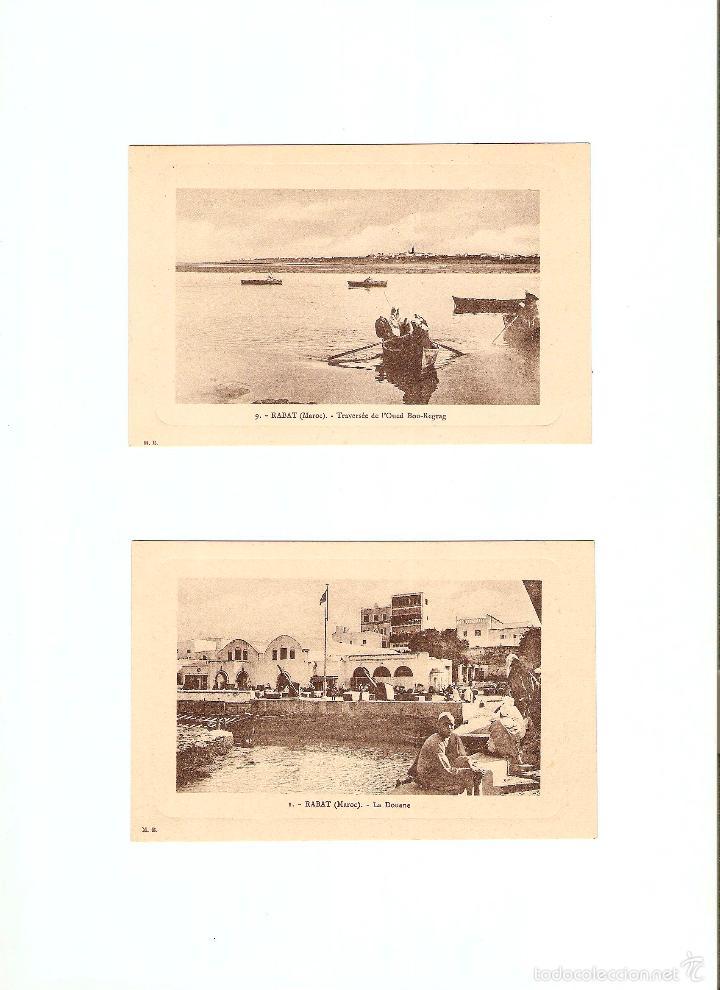 Postales: ÁLBUM HACIA 1900. 36 CARTES POSTALES MARRUECOS. FOTÓGRAFOS: JOSEPH BOUSSUGE, PIERRE GRÉBERT - Foto 7 - 57979895