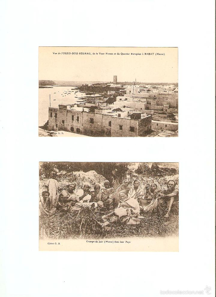 Postales: ÁLBUM HACIA 1900. 36 CARTES POSTALES MARRUECOS. FOTÓGRAFOS: JOSEPH BOUSSUGE, PIERRE GRÉBERT - Foto 9 - 57979895