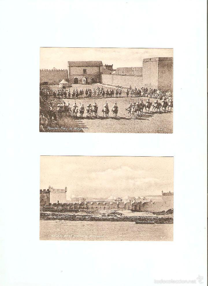 Postales: ÁLBUM HACIA 1900. 36 CARTES POSTALES MARRUECOS. FOTÓGRAFOS: JOSEPH BOUSSUGE, PIERRE GRÉBERT - Foto 11 - 57979895