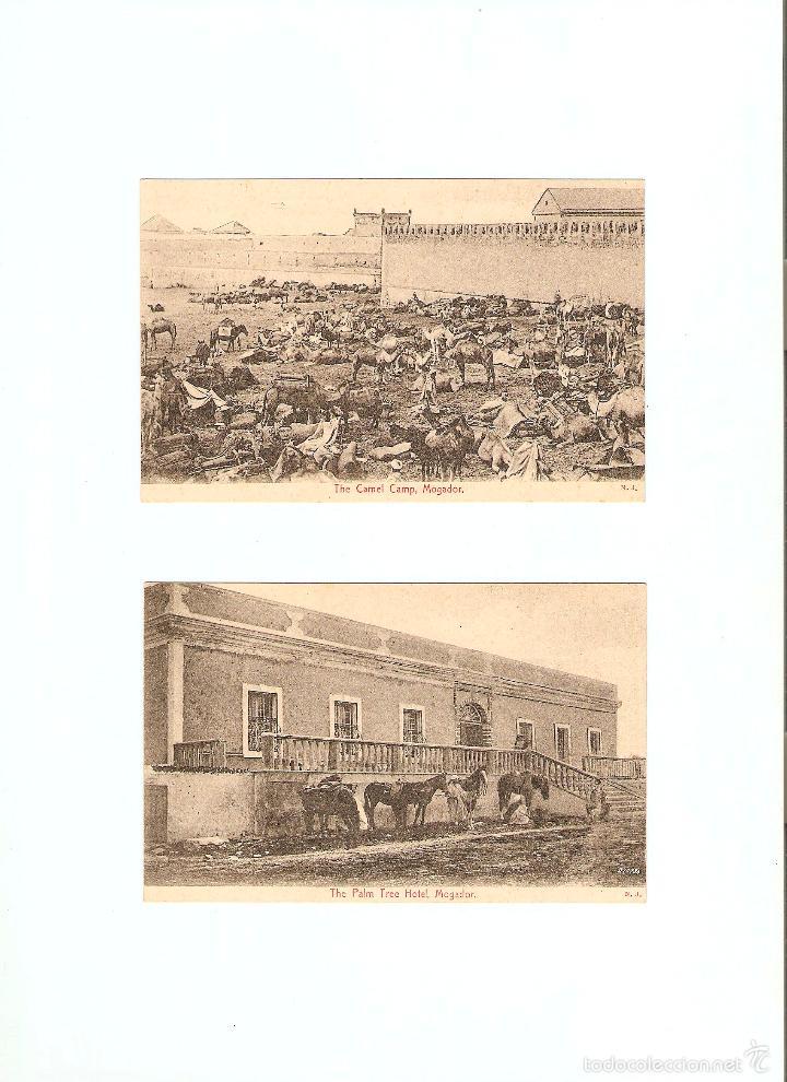 Postales: ÁLBUM HACIA 1900. 36 CARTES POSTALES MARRUECOS. FOTÓGRAFOS: JOSEPH BOUSSUGE, PIERRE GRÉBERT - Foto 12 - 57979895