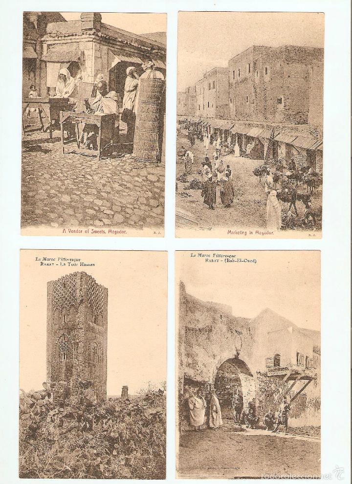 Postales: ÁLBUM HACIA 1900. 36 CARTES POSTALES MARRUECOS. FOTÓGRAFOS: JOSEPH BOUSSUGE, PIERRE GRÉBERT - Foto 13 - 57979895
