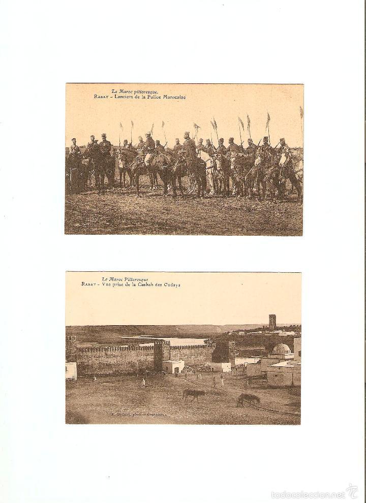 Postales: ÁLBUM HACIA 1900. 36 CARTES POSTALES MARRUECOS. FOTÓGRAFOS: JOSEPH BOUSSUGE, PIERRE GRÉBERT - Foto 14 - 57979895