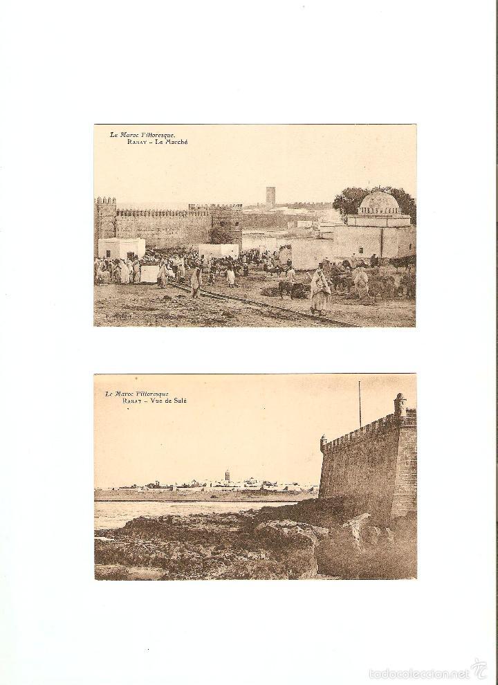 Postales: ÁLBUM HACIA 1900. 36 CARTES POSTALES MARRUECOS. FOTÓGRAFOS: JOSEPH BOUSSUGE, PIERRE GRÉBERT - Foto 15 - 57979895
