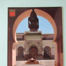 Postales: 1850 MOROCCO MARRUECOS MAROC FES, MOSQUÉE KARAOUYINE. Lote 58088312