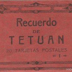 Postales: POSTALES BLOC TETUAN 20 POSTAL Nº 1 FOTOTIPIA DE HAUSER Y MENET MADRID MBE MBE+ AÑOS 20. Lote 58564866