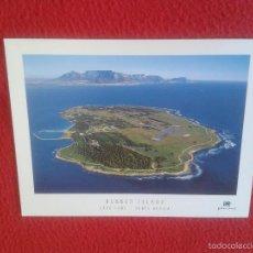 Postales: POSTAL POSTCARD SOUTH AFRICA DEL SUR SUDAFRICA CAPE TOWN ROBBEN ISLAND NELSON MANDELA WAS IMPRISONED. Lote 58680640