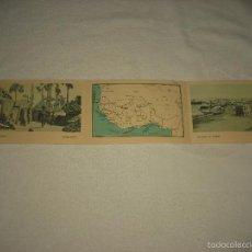 Postales: 3 POSTALES DE L'AFRIQUE OCCIDENTALE FRANÇAISE. Lote 59069490