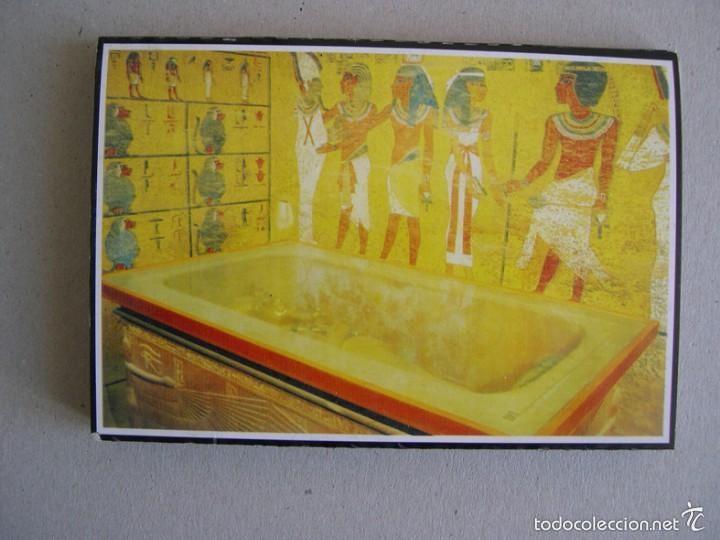 CARTERA DE 18 POSTALES DE EGIPTO. VALLE DE LOS REYES (Postales - Postales Extranjero - África)