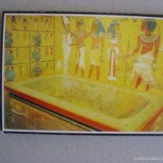Postales: CARTERA DE 18 POSTALES DE EGIPTO. VALLE DE LOS REYES. Lote 60597587