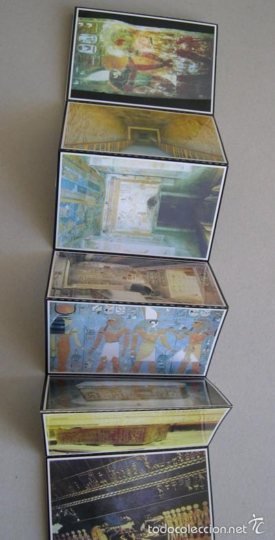 Postales: CARTERA DE 18 POSTALES DE EGIPTO. VALLE DE LOS REYES - Foto 2 - 60597587