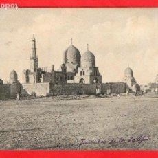 Postales: EGIPTO - EL CAIRO - LAS TUMBAS DE LOS CALIFAS - AÑOS 10/20 - 18340 R. & J. D - POSTAL ORIGINAL . Lote 62392496