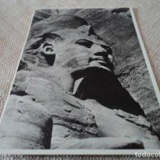 Postales: RAMSES II TEMPLE OF ABU SIMBEL. Lote 66991674