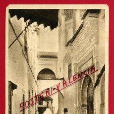 Postales: POSTAL TETUAN, MARRUECOS, CALLE DEL BARRIO MORO, P84670. Lote 67520457