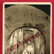 Postales: POSTAL TETUAN, MARRUECOS, CALLE DEL BARRIO MORO, P84673. Lote 67520993