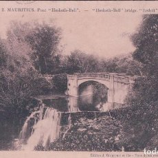 Postales: ILE MAURICE - MAURITIUS - LE COLLEGE ROYALE & LE MONUMENT DE LA GRANDE GUERRE - CUREPIPE. MAURICIO. Lote 68562189