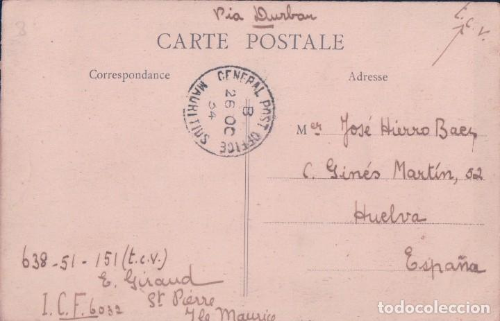 Postales: ILE MAURICE - MAURITIUS - LE COLLEGE ROYALE & LE MONUMENT DE LA GRANDE GUERRE - CUREPIPE. MAURICIO - Foto 2 - 68562189