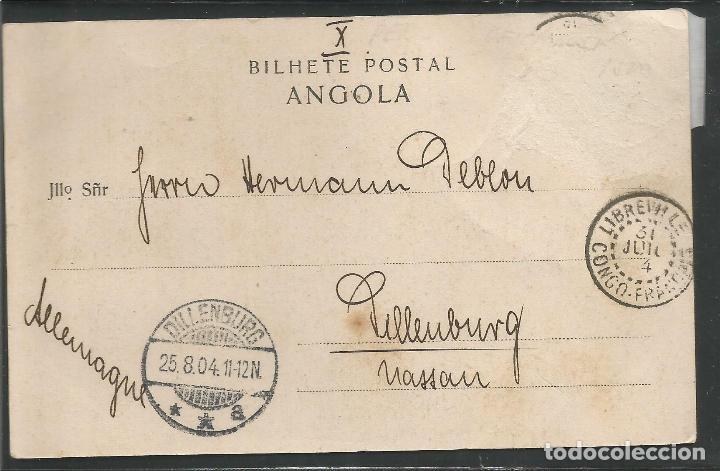 Postales: ANGOLA - POSTAL ANTIGUA - ETNICA COSTUMBRISTA -VER REVERSO -(45.639) - Foto 2 - 69389389