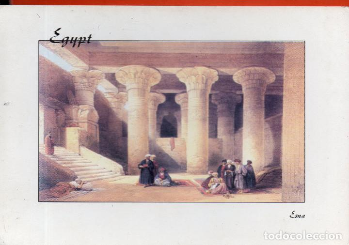 VESIV POSTAL EGYPT THE INTERIOR OF THE TEMPLE OF ESNA (Postales - Postales Extranjero - África)