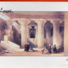 Postales: VESIV POSTAL EGYPT THE INTERIOR OF THE TEMPLE OF ESNA . Lote 71581975