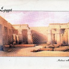 Postales: VESIV POSTAL EGYPT THE INTERIOR OF THE TEMPLE OF MEDINET HABU. Lote 71582027