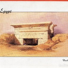 Postales: VESIV POSTAL EGYPT THE IGREAT ENTRY PORTAL TOTHE SANCTUARY OF DENDERA. Lote 71582091