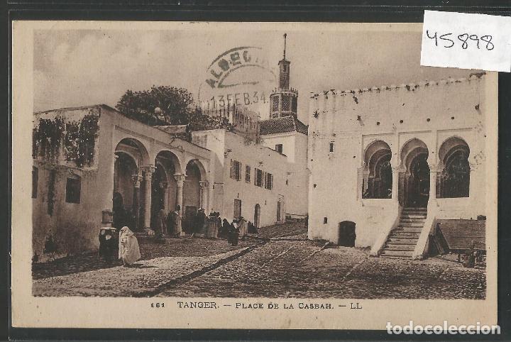 TANGER - CIRCULADA - VER REVERSO - (45.898) (Postales - Postales Extranjero - África)
