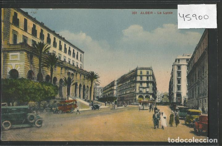 ALGER - CIRCULADA - VER REVERSO - (45.900) (Postales - Postales Extranjero - África)