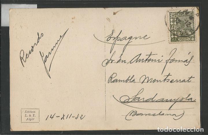 Postales: ALGER - CIRCULADA - VER REVERSO - (45.900) - Foto 2 - 71928659