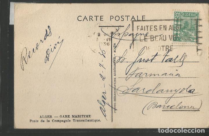 Postales: ALGER - CIRCULADA - VER REVERSO - (45.901) - Foto 2 - 71928703